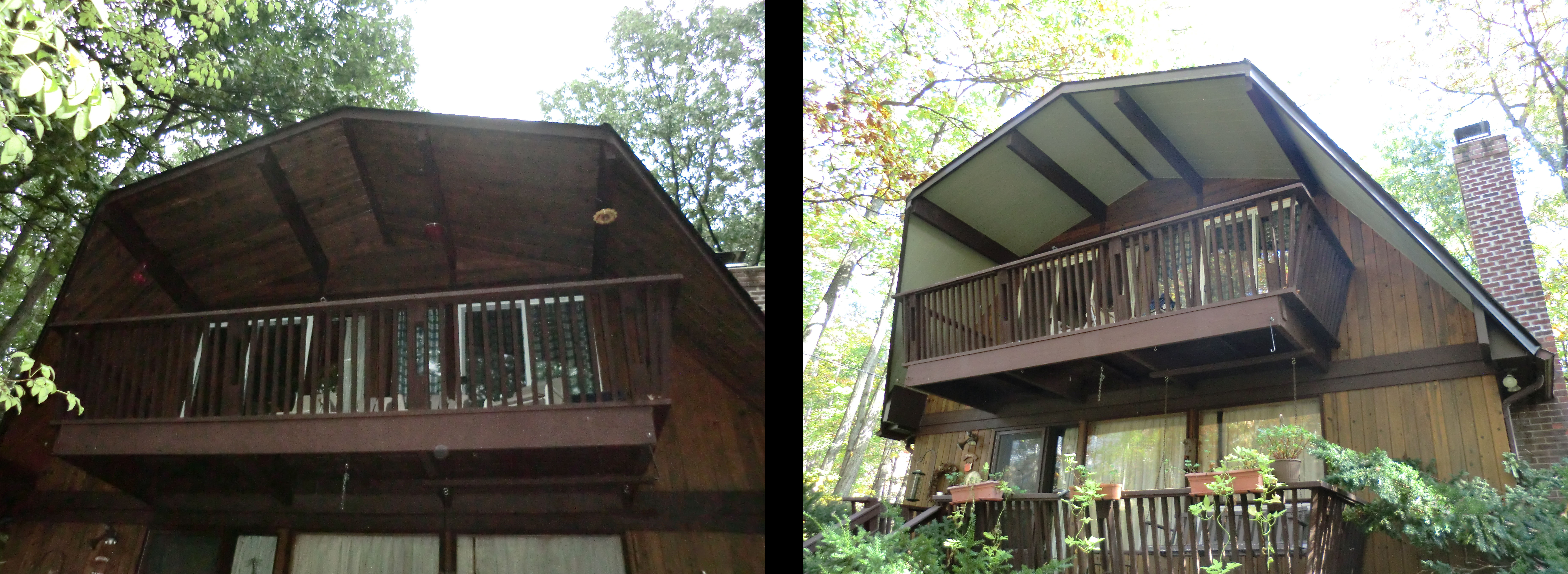 siding before and after barn style house