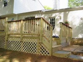 finished deck front view 2