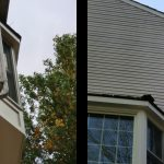 siding before and after front